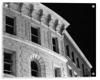 Phenix Block, Bangor, Maine, Acrylic Print