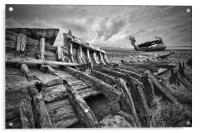 Wooden Remains, Acrylic Print