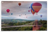 02 Bristol Balloon Fiesta, Acrylic Print