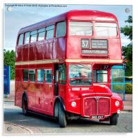 London Transport Routemaster Bus, Acrylic Print
