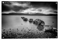 Milarrochy Bay Loch Lomond , Acrylic Print