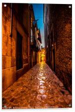 Pollenca street, Acrylic Print