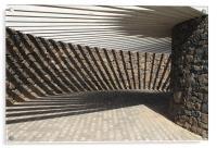 Abstract Shadows, Acrylic Print