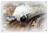 Steam train Tornado pulling the Cornishman, Acrylic Print