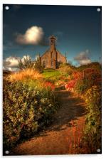 Weisdale Church, Shetland, Acrylic Print