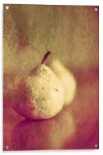 Two Pears Or One Pair, Acrylic Print