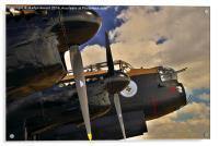 Canadian Avro Lancaster Bomber VeRA, Acrylic Print