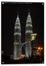 Petronas Towers, Acrylic Print