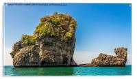 Phang Nga Bay, Acrylic Print