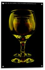Two Wine Glasses, Acrylic Print