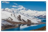Yamdrok Lake - Tibet, Acrylic Print