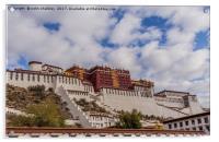 The Potala Palace in Tibet, Acrylic Print