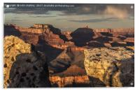 Grand Canyon Sunset, Acrylic Print