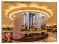 Oriental TV Tower Shanghai, Acrylic Print
