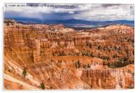Bryce Canyon Hoodoos - USA, Acrylic Print