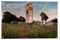 Swansea cenotaph, Acrylic Print