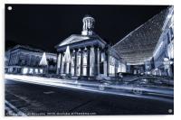 Royal Exchange Square Glasgow, Acrylic Print