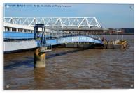 Seacombe Ferry, covered access, Acrylic Print