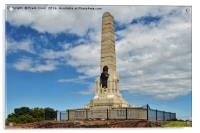 The War memorial on Grange Hill, Wirral, Acrylic Print