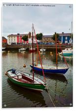 Aberaeron Harbour, Acrylic Print