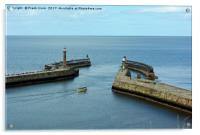 Whitby Harbour, Acrylic Print