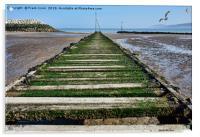 Rhos-on-Sea - fishing boat jetty, Acrylic Print