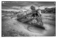 Abandon ship, Acrylic Print