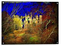 Cambusnethan Priory , a Haunted Look, Acrylic Print