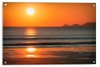 Reflecting Sunset, Acrylic Print
