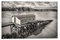 Lifeboat Station, Acrylic Print