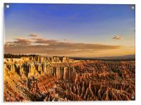 Bryce Canyon Sunrise, Acrylic Print
