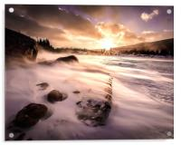 Windy Morning, Acrylic Print