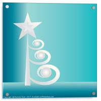 Pearls for Christmas, Acrylic Print