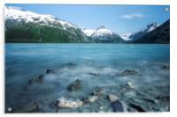 Portage Lake, No. 2, Acrylic Print
