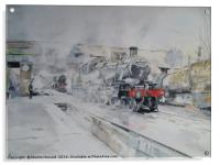 Great Central Steam, Acrylic Print