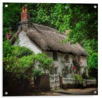 Dorset Cottage, Acrylic Print