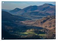 Views to Skiddaw, Acrylic Print