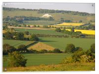 Ivinghoe View to Whipsnade, Acrylic Print