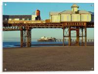 Blackpool Pier, Acrylic Print