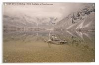 Lake Bohinj Reflection, Acrylic Print