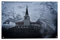 Kostnica s Cerkvijo Sv. Antona, Acrylic Print
