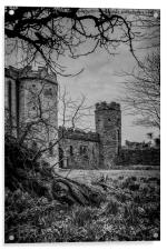 Torre Abbey Torquay, Acrylic Print