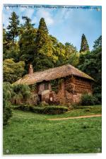 Cockingtons gamekeepers cottage., Acrylic Print
