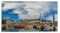 Torquay Harbour., Acrylic Print