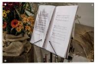 Music by Vivaldi, Acrylic Print
