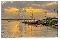 Maldon Sunrise, Acrylic Print