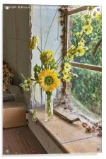The Window Sill, Acrylic Print