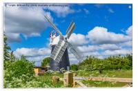 Thelnetham Tower mill, Acrylic Print