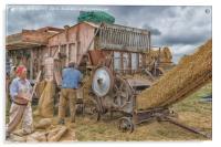 Farming Yesteryear, Acrylic Print
