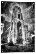 Spooky Wymondham Abbey, Acrylic Print